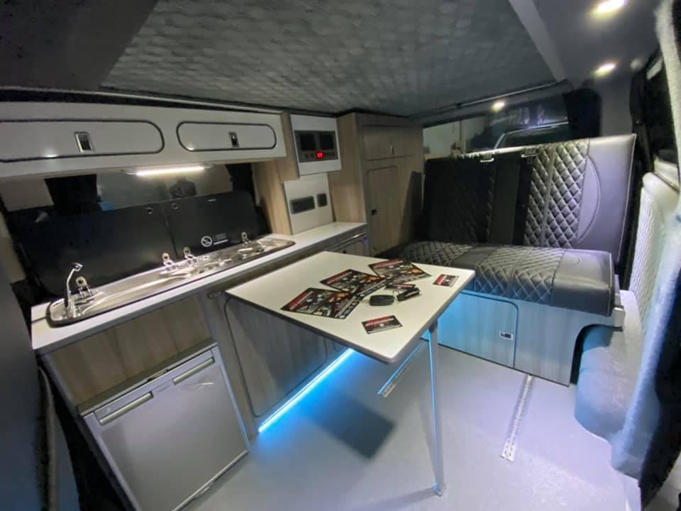 Ford Transit Custom Camper Conversion