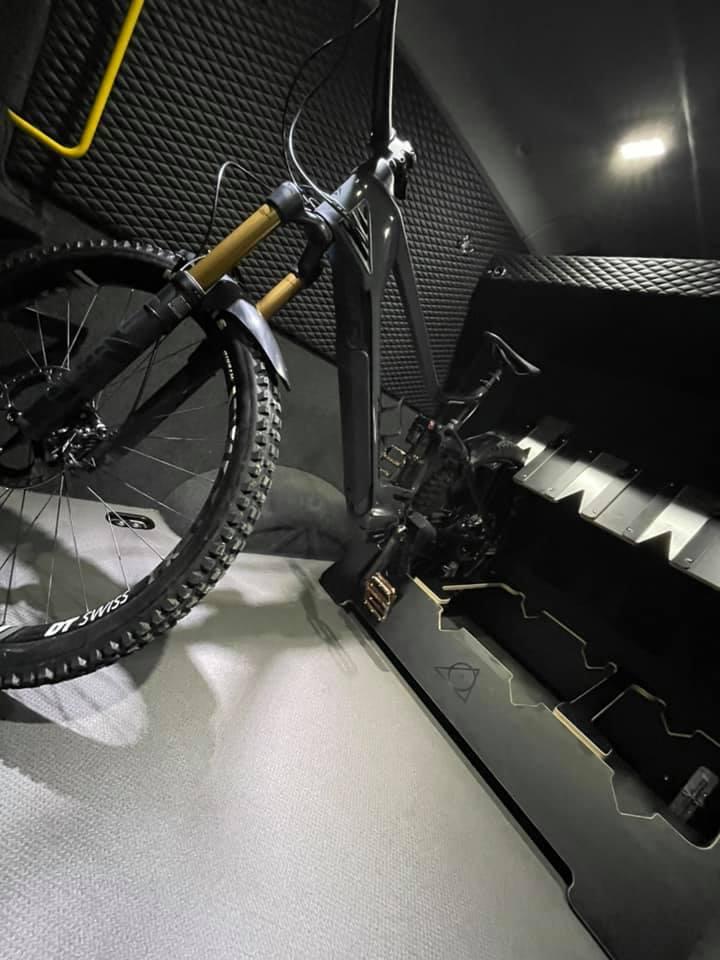 Bike Carrier Work Van custom conversion