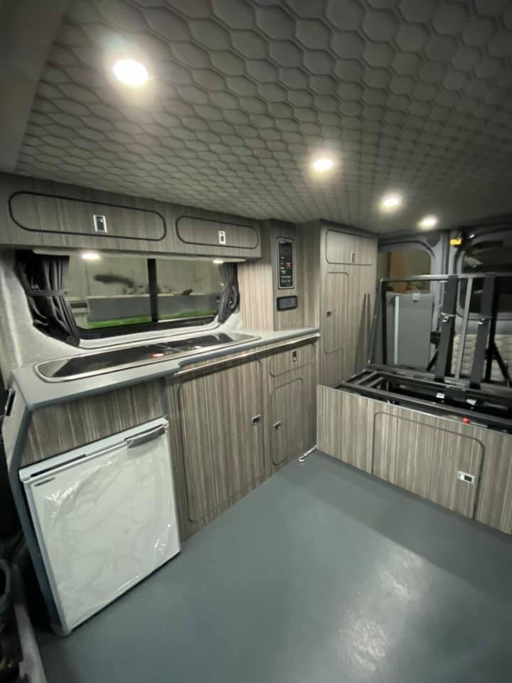 Custom Camper Van Conversion